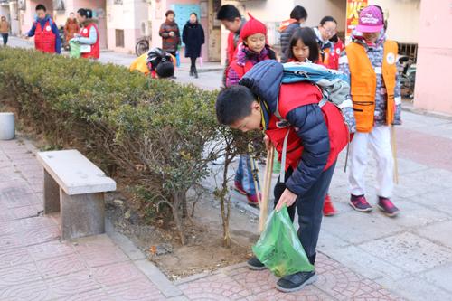 """""""走进社区-践行环保""""卫生清洁志愿活动.jpg"""