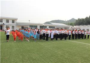 """宝山小学纪念建党98周年""""我和我的祖国""""主题升国旗议式 009.JPG"""