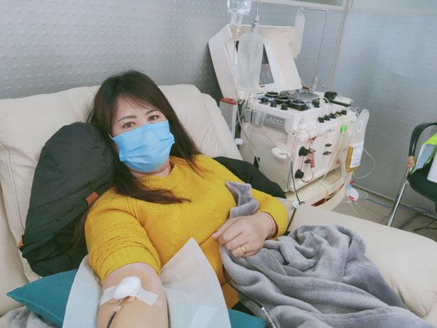 """""""你是我们的骄傲!""""长寿妹儿成为重庆首批血浆捐献志愿者"""