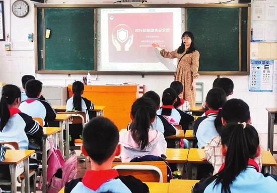 南宁市多所学校开展国家安全教育主题活动