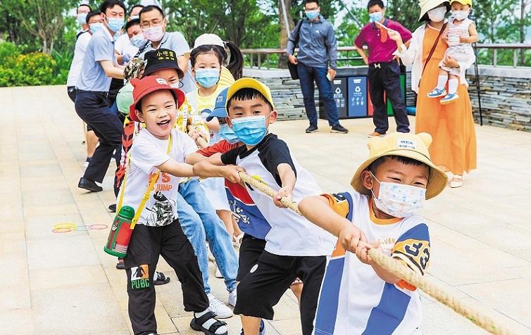 """湖北省近10万儿童""""云上""""过""""六一"""""""