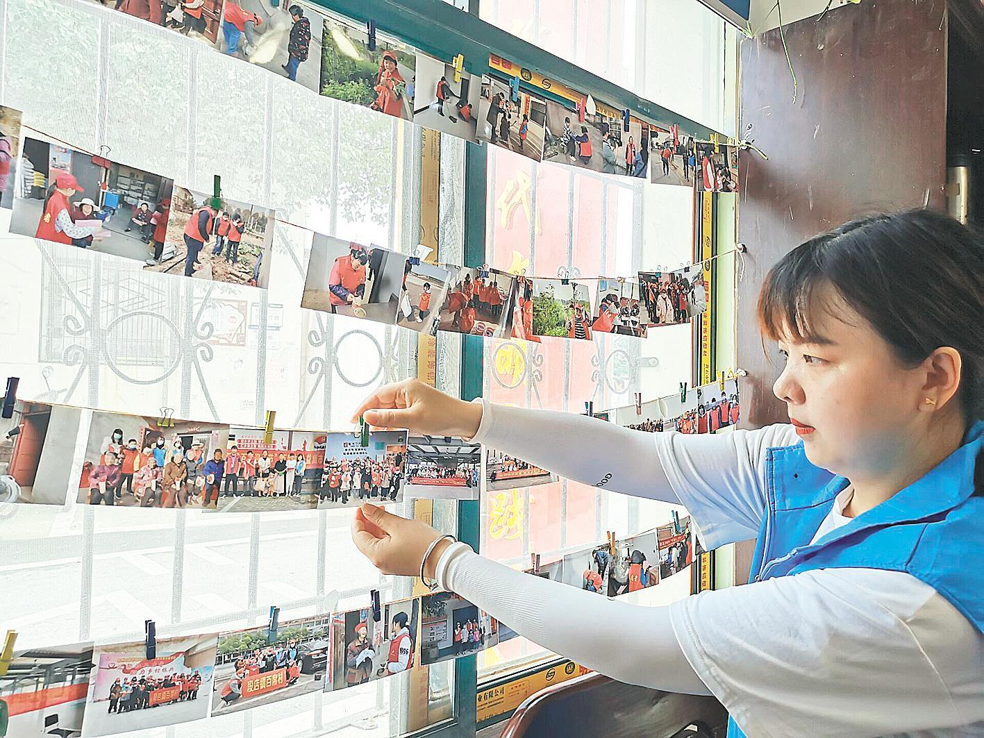 鄂州华容10支志愿服务队活跃百席村 互助志愿服务蔚然成风