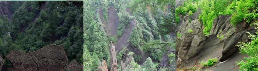 雄浑壮丽的自然景观 锦江大峡谷