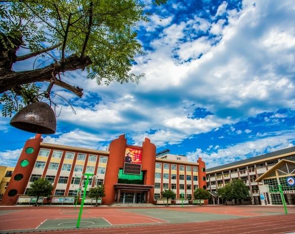 泰安师范学校附属学校高清图片3:校园操场