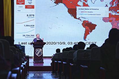 和平区关工委举办抗疫英雄事迹报告会