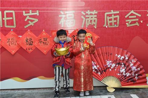 杭州:少儿体验民俗 感受浓浓年味1.jpg
