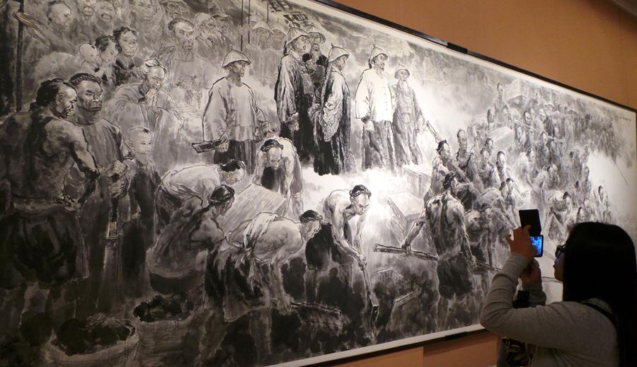 """""""丹青中国梦—庆祝中华人民共和国成立65周年美术图片"""