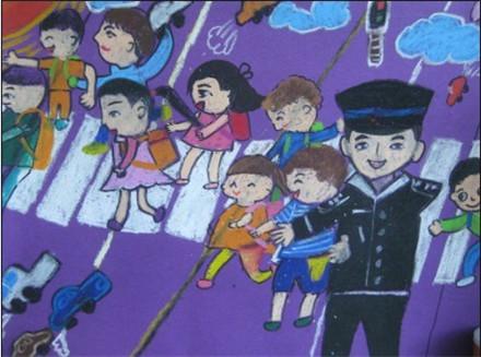 看创城 小手绘文明 儿童画文明活动
