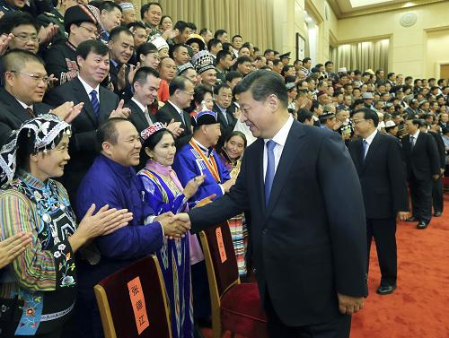 中央民族工作会议在京举行 习近平作重要讲话