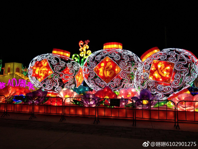"""伟大祖国幸福年:张""""灯""""结彩年味浓"""