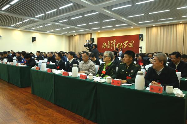 11 學雷鋒和志愿服務座談會現場。中國文明網 賀子桓.jpg