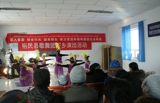 [新疆]裕民县入基层,转作风 文化下乡惠群众